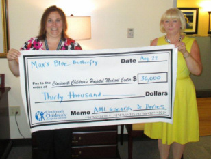 check from blue butterfly campaign